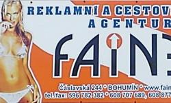 Reklamní a cestovní agentura Faine