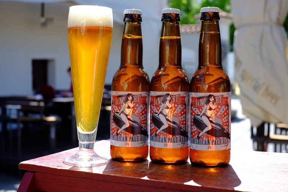 American Pale Ale z Klášterního pivovaru Strahov